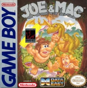 Joe & Mac/Game Boy