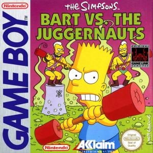 The Simpsons Bart Vs. The Juggernauts/Game Boy