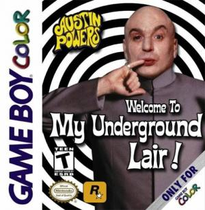 Austin Powers Welcome To My Underground Lair/Game Boy Color