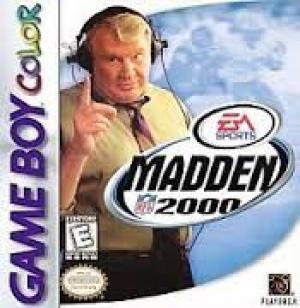 Madden NFL 2000/Game Boy Color