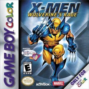 X-Men Wolverine's Rage/Game Boy Color
