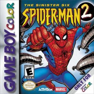 Spider-man 2 The Sinister Six/Game Boy Color