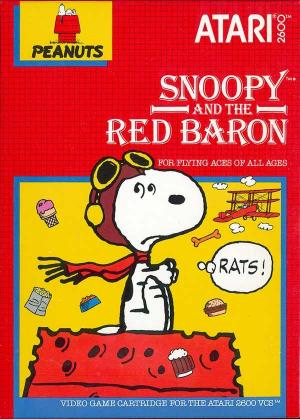 Snoopy And The Red Baron/Atari 2600