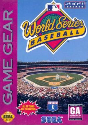 World Series Baseball/Game Gear