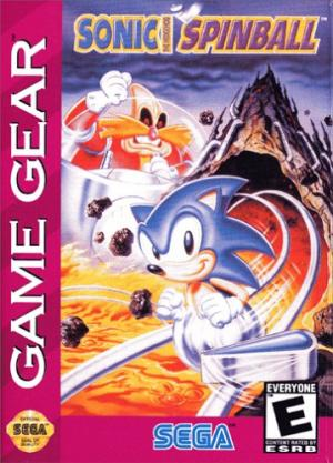 Sonic the Hedgehog Spinball cover