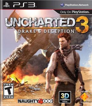 Uncharted 3 Drake's Deception/PS3