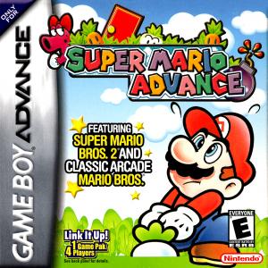 Super Mario Advance cover