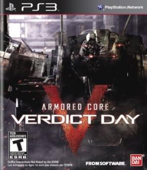 Armored Core V Verdict Day/PS3