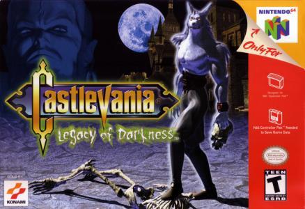 Castlevania Legacy Of Darkness/N64