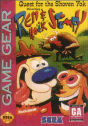 Ren & Stimpy Quest For The Shaven Yak/Game Gear