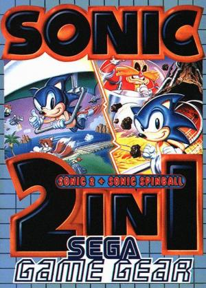 Sonic 2 In 1: Sonic 2 + Sonic Spinball cover