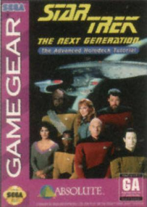 Star Trek The Next Generation The Advanced Holodeck Tutorial/Game Gear