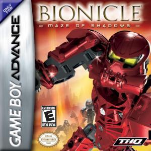 Bionicle Maze Of Shadows / GBA