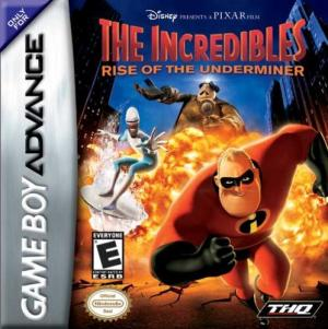 The Incredibles Rise of the Underminer/GBA