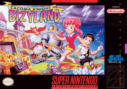 Cacoma Knight In Bizyland/SNES