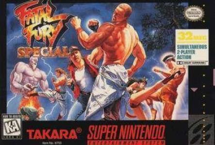 Fatal Fury Special/SNES