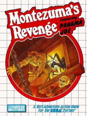 Montezuma's Revenge Featuring Panama Joe /Sega Master