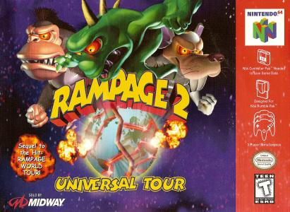 Rampage 2 Universal Tour/N64