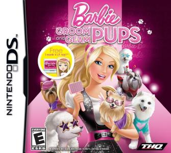 Barbie Groom and Glam Pups / DS