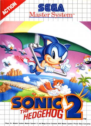 Sonic the Hedgehog 2 cover