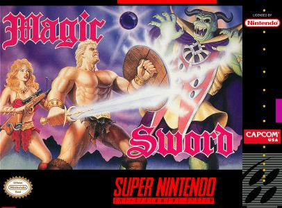 Magic Sword/SNES