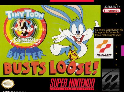 Tiny Toon Adventures Buster Busts Loose!/SNES