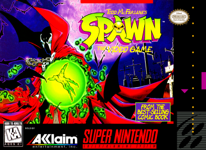 Spawn The Video Game/SNES