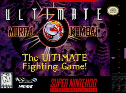 Ultimate Mortal Kombat 3/SNES