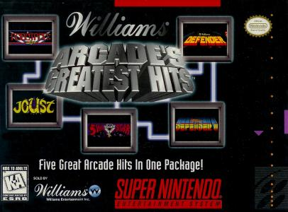 Williams Arcade's Greatest Hits/SNES