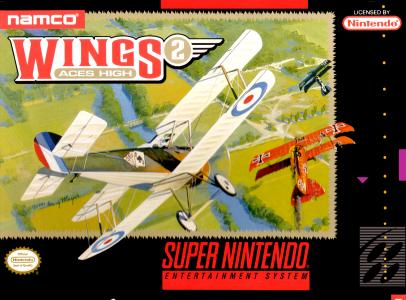 Wings 2 Aces High/SNES