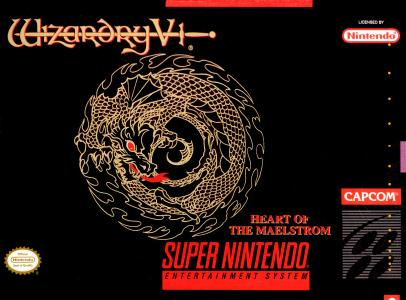 Wizardry V Heart of the Maelstrom/SNES