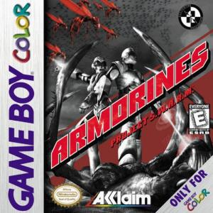Armorines Project Swarm/Game Boy Color