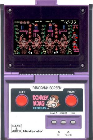 Donkey Kong Circus - Panorama Screen