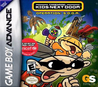 Codename Kids Next Door Operation S.O.D.A. /GBA
