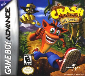 Crash Bandicoot The Huge Adventure/GBA