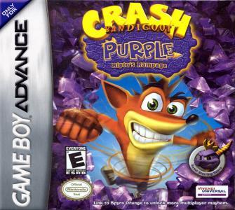 Crash Bandicoot Purple Ripto's Rampage/GBA