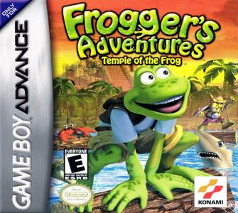 Frogger's Adventures Temple Of The Frog/GBA