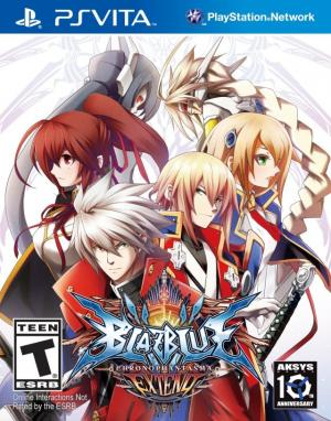 BlazBlue Chrono Phantasma Extend/PS Vita