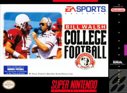 Bill Walsh College Football/SNES