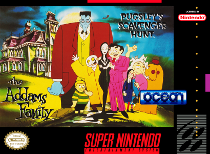 Addams Family, The: Pugsley's Scavenger Hunt/SNES