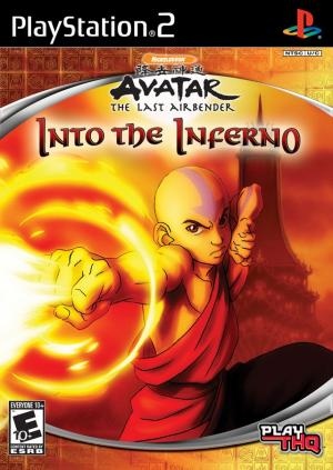 Avatar The Last Airbender Into the Inferno / PS2