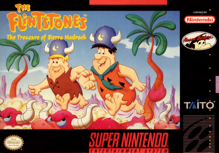 The Flintstones The Treasure Of Sierra Madrock/SNES