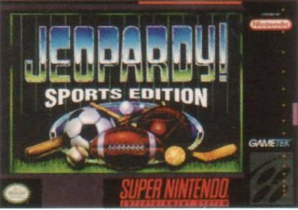 Jeopardy! Sports Edition/SNES