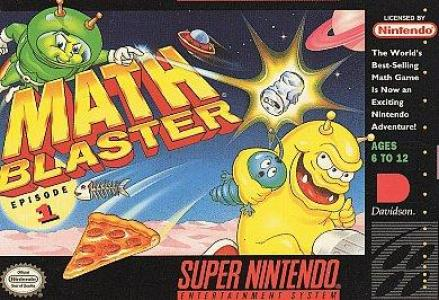 Math Blaster Episode 1/SNES