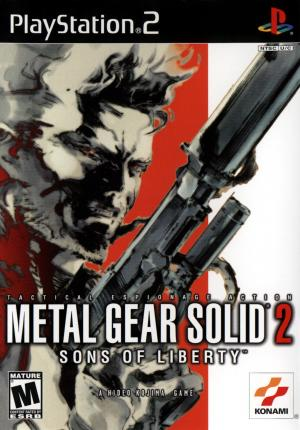Metal Gear Solid 2 Sons Of Liberty/PS2
