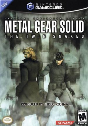 Metal Gear Solid The Twin Snakes/GameCube