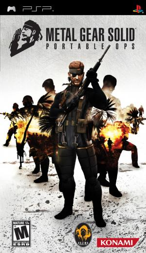 Metal Gear Solid: Portable Ops/PSP