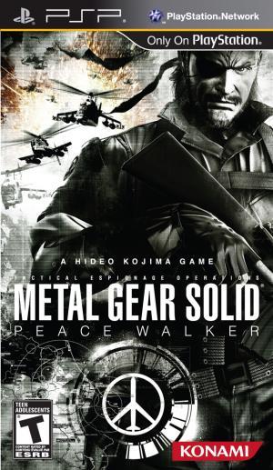Metal Gear Solid Peace Walker/PSP