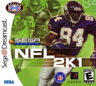 NFL 2k1/Dreamcast