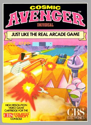 Cosmic Avenger/Colecovision